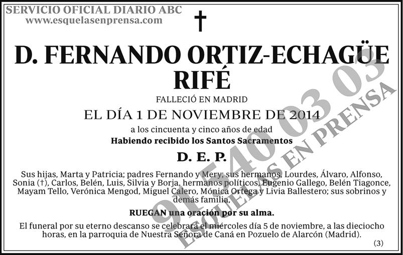 Fernando Ortiz-Echagüe Rifé